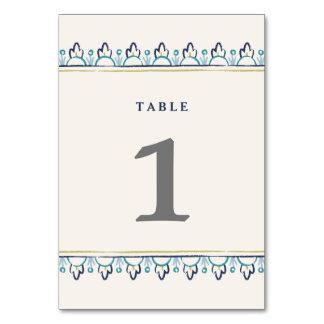 Número de la tabla de la mandala - trullo