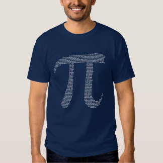 Números del fractal del pi camisetas