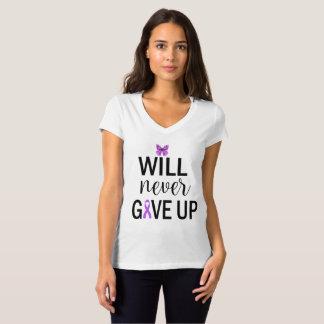 Nunca daré para arriba la camiseta fibro con