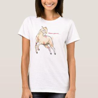 Nunca dé en…. camiseta