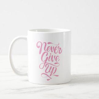 """""""Nunca dé para arriba"""" la taza de la declaración"""