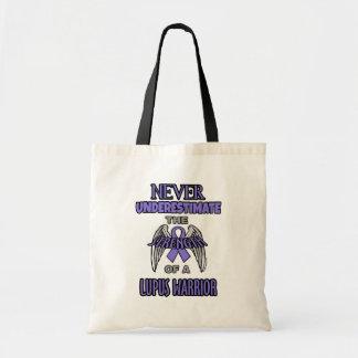 Nunca… guerrero del lupus bolso de tela