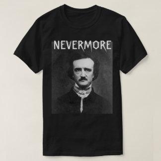 Nunca más camiseta de Edgar Allan Poe