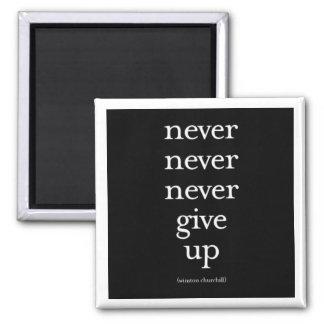 """""""Nunca, nunca, nunca dé para arriba """" Iman De Frigorífico"""