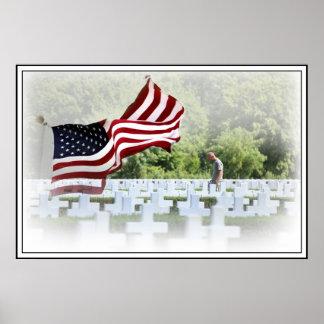 Nunca olvidado - Memorial Day Posters
