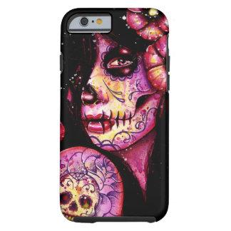 Nunca olvidaré el día del chica muerto funda de iPhone 6 tough