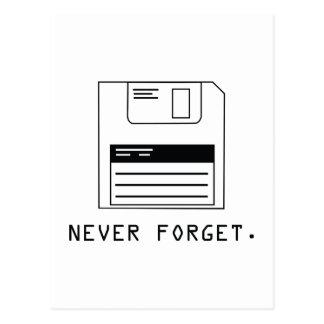 Nunca olvide: Del disco blando Postal