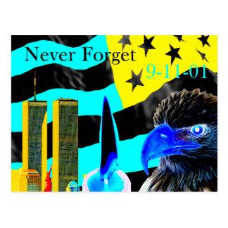 Nunca olvide la negativa 9-11-01 postal