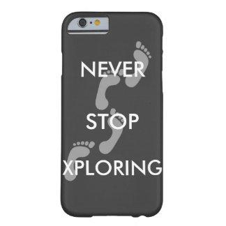 Nunca pare la caja del teléfono de Xploring i6/6S Funda Barely There iPhone 6