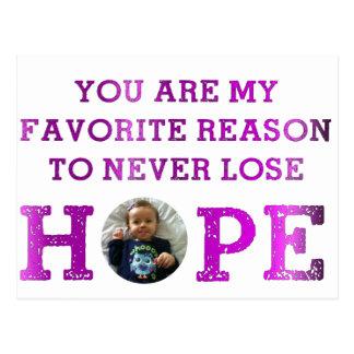 Nunca pierda la esperanza - Audrey Postal