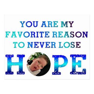 Nunca pierda la esperanza - Casey D Postales