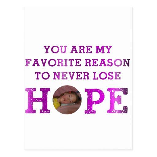 Nunca pierda la esperanza - Kaitlyn Postales