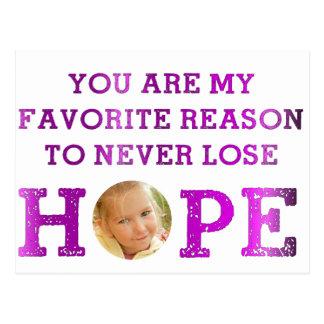 Nunca pierda la esperanza - Makenna Postales