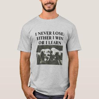 Nunca pierdo la camisa de los artes marciales