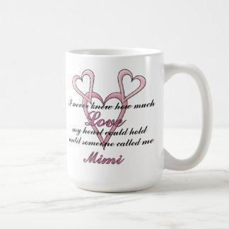 (Nunca sabía) taza del día de madre Mimi