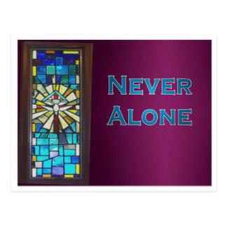 Nunca solamente ventana del Espíritu Santo Postal