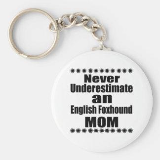 Nunca subestime a la mamá del raposero inglés llavero