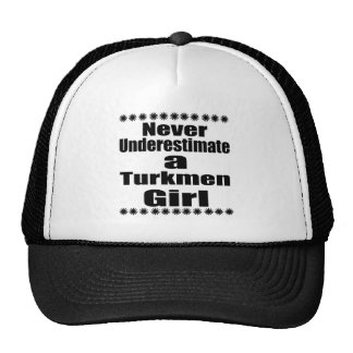 Nunca subestime a una novia turcomana gorra