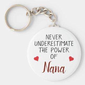 Nunca subestime el llavero personalizado Nana