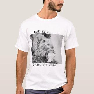Nutria Camiseta