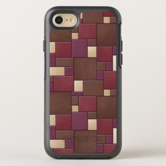 NUTRIA de la imitación de cuero IPHONE 6/6S Funda OtterBox Symmetry Para iPhone 8/7