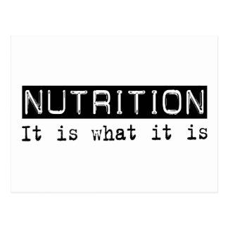 Nutrición es postal