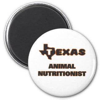 Nutricionista del animal de Tejas Imán Redondo 5 Cm