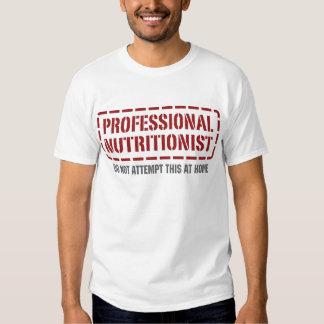 Nutricionista profesional camisas