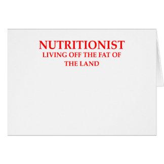 nutricionista felicitación