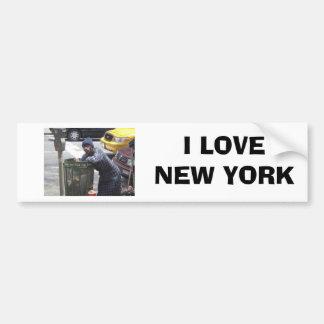 ny-bum00 [1], AMO NUEVA YORK Pegatina Para Coche