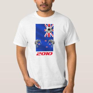 NZ 2010 todos los regalos del fútbol de los Camiseta