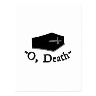 O, muerte postal