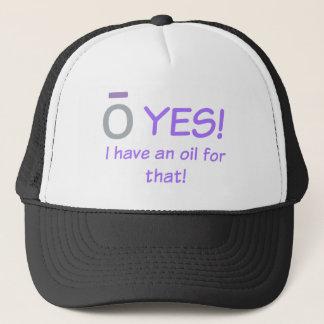 ¡O SÍ! Tengo un gorra del camionero del aceite