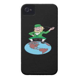 O superior el mundo iPhone 4 Case-Mate cárcasas