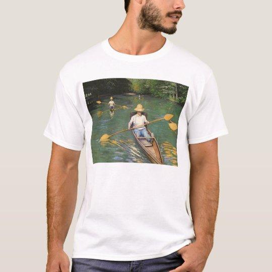 Oarsmen de Gustave Caillebotte, bella arte del Camiseta