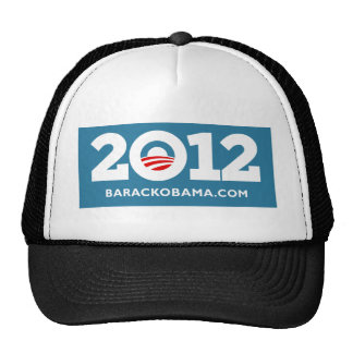 Obama 2012 gorros bordados