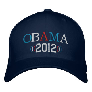 Obama 2012 gorra de beisbol