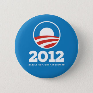 "Obama ""2012"" Pin del botón"