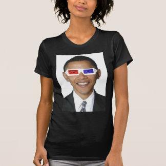 Obama 3D Camiseta