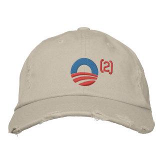 Obama ajustó la gorra de béisbol
