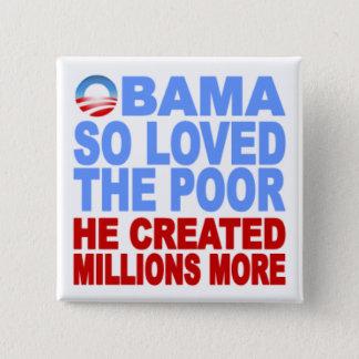 Obama amó tan el botón pobre
