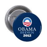 Obama Biden 2012 Chapa Redonda De 5 Cm