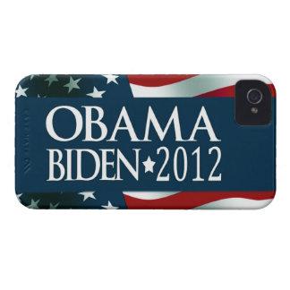 Obama Biden 2012 Case-Mate iPhone 4 Protectores