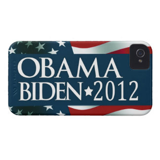 Obama Biden 2012 iPhone 4 Protectores