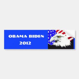 Obama Biden 2012 Pegatina De Parachoque