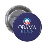 Obama Biden Chapa Redonda De 5 Cm