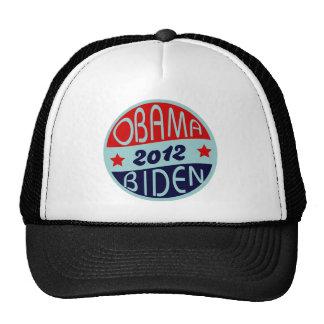 obama biden el vintage 2012 gorros bordados