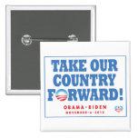 Obama-Biden TOCF y Pin del voto