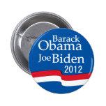 Obama - botón de Biden 2012