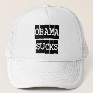 Obama chupa gorra de camionero
